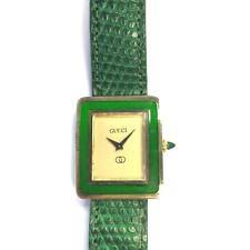 gucci 9200l. rare vintage classic gucci green enamel vermeil manual-wind watch gucci 9200l