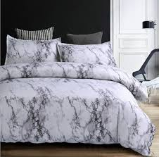 marble duvet cover sets modern bedding