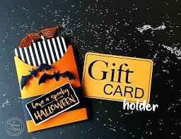 Halloween Gift Cards Kit Spooky Gift Card Holder Halloween Teacher Gift