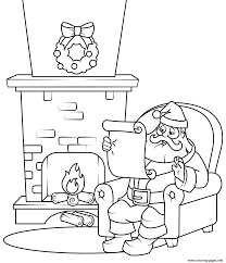 Christmas List Coloring Page Wumingme