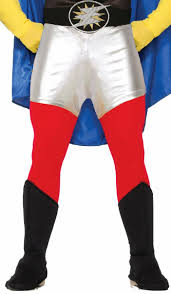 Create Your Own Pants Superhero Red Rogue Adults Costume Pants