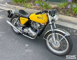 1974 norton commando 850 iconic
