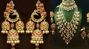 Gold Polki Necklace Designs Exclusive Polki Jewellery Design 2018