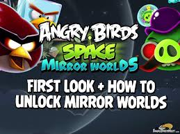 Angry Birds Space Mirror Worlds and Brass Hogs Now Available!