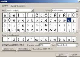 The fonts with the best ipa coverage include charis, gentium plus, doulus, and andika, which were all designed specifically for linguists.google's noto. Phonetic Symbols