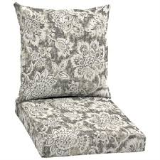 Garden Treasures Neutral Bloom 2 Piece Chair Cushion Set