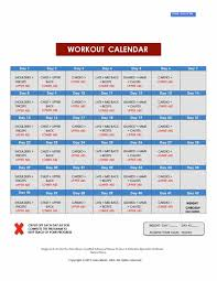 workout planner template 40 effective workout log calendar templates template lab