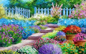 Free Desktop Wallpaper Flower Scenes on ...