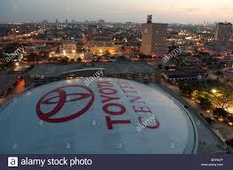 Toyota Houston Tx Skyline Of Downtown Houston Texas Usa Showing Roof Of Toyota
