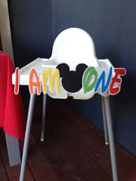 how to make a diy mickey mouse high chair banner with free img 3645