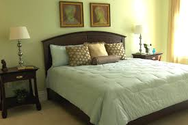 Bedroom  Design Ideas Interior Brown Fabric Master Bedroom Window - Master bedroom window treatments