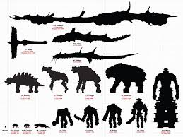 Shadow Of The Colossus Size Comparison Chart Shadow Of The