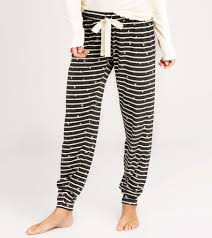 Hatley Size Chart Us Slouchy Lounge Pants Silver Heart Stripes