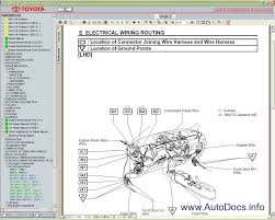 toyota wiring diagrams toyota wiring diagrams