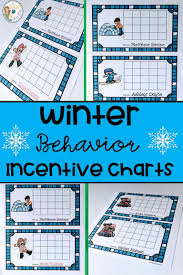Winter Incentive Charts Incentive Charts With A Winter Theme The Traveling