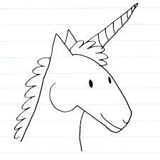 monster creature drawings easy. Unicorn Drawing For Monster Creature Drawings Easy