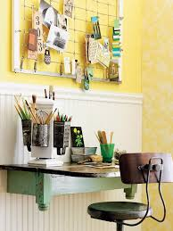 diy home office. DIY Home Office \u2013 Small Spaces - Re-puposed Materials Make This Terrific Desk Space By BHG\u2026 More Tips \u0026 Ideas! Diy