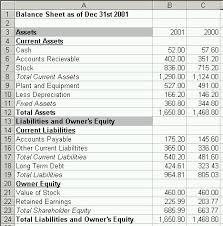 basic balance sheet basic balance sheet template excel excel 38 standart for 6