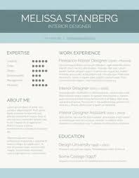 Resume Template Modern Interesting 48 Free Resume Templates For Word [Downloadable] Freesumes