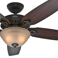 hunter 52 new bronze ceiling fan with walnut or mahogany blades light kit