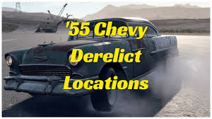 NFS 1955 Chevy Bel Air Derelict locations - YouTube