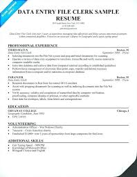 Data Entry Job Description For Resume Luxury Data Entry Resume