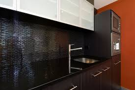 Granite Kitchen Benchtop Popular Black Granite Tiles In Kitchen Genuine Home Design