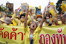 Thai royalists rally to support king as lawmakers mull committee to end  protests | South China Morning Post