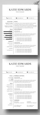 44 Best Resume Templates Images On Pinterest Cv Template Resume