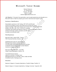 Java Tester Sample Resume Quality Auditor Sample Resume