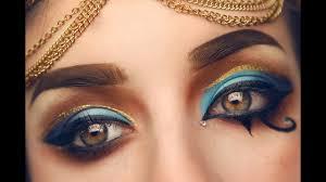 egyptian inspired makeup tutorial