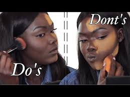 contouring and highlighting are two very vital parts of makeup if one of these processes is badly done then makeup would be distorte