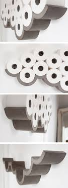 Awesome Products: Cloud concrete toilet roll holder. Toilet Roll ArtToilet  Paper ...