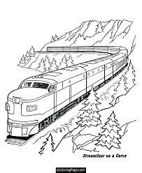 Train Coloring Page The Train Color Page The Tank Engine Train