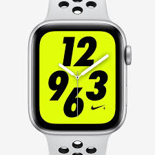 Apple Watch 4 Band Compatibility Chart Apple Watch Nike Series 4 Gps With Nike Sport Band 44mm Sport Watch