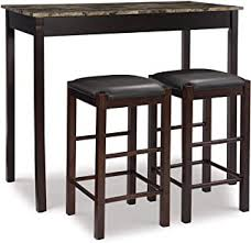 3 Pieces Dining Table & Chair Sets - Amazon.com