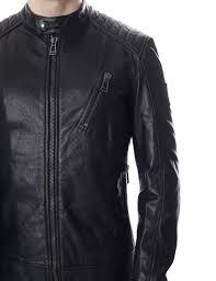 v racer men 039 s leather blouson jacket