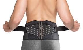 Copper Fit Mens Rapid Relief Back Support Brace With Hot Cold Therapy