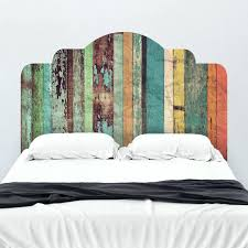 wall decal headboards distressed panels adhesive headboard mount wall decal on wall wall stickers headboard uk