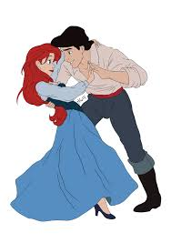 Small Picture ariel and eric if i had a boyfriend this would be so cute
