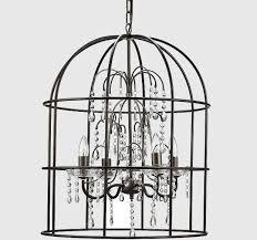 birdcage chandelier birdcage crystal chandelier