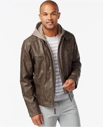 clothing 13 astonishing macys mens leather jackets calvin klein brown faux leather er hoo normal