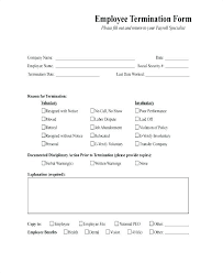 Termination Letter No Call No Show Employee Termination Template Employee Termination Template