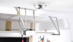 Garage Ceiling Light Fixtures Trilight Motion Activated Garage Ceiling Light