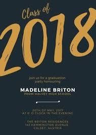 Graduation Invitation Portrait Customize Templates Online