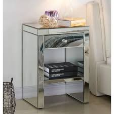 find many great new used options and get the best deals for modern venetian mirror glass side table lamp diamante stand romany italian at the best