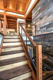 rustic wood stairs rustic stair railing rustic stair railing industrial staircase ideas