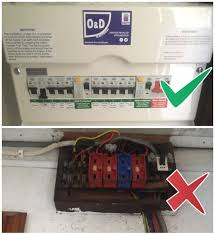 consumer unit (fuse box) replacement o&d electrical ltd Car Fuse Box Upgrade Fuse Box #19