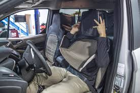 Car Seat With Lights Ford Disguises Man As Seat To Test Public Reaction To