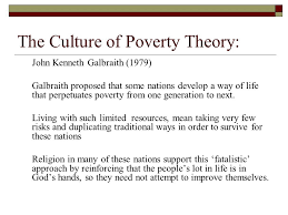 global stratification ppt video online  the culture of poverty theory